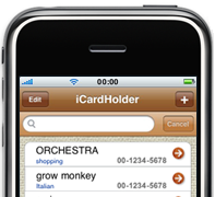 iCardManager for iPhone iPad